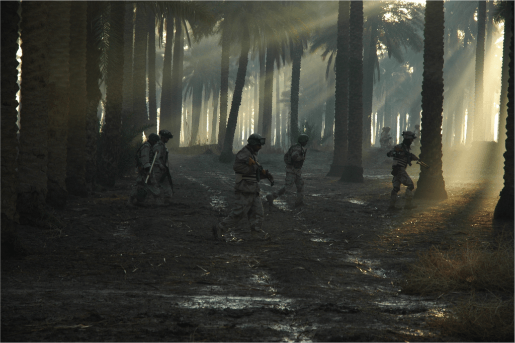 Image Iraq patrol