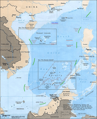 South China Sea 9 Dotted Line