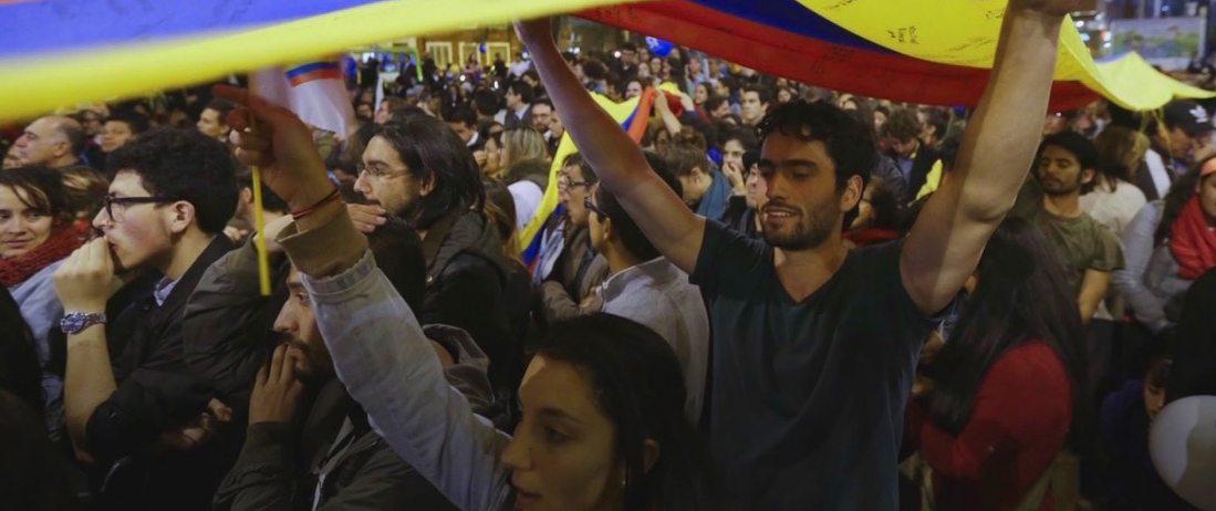Colombia Bogota peace FARC