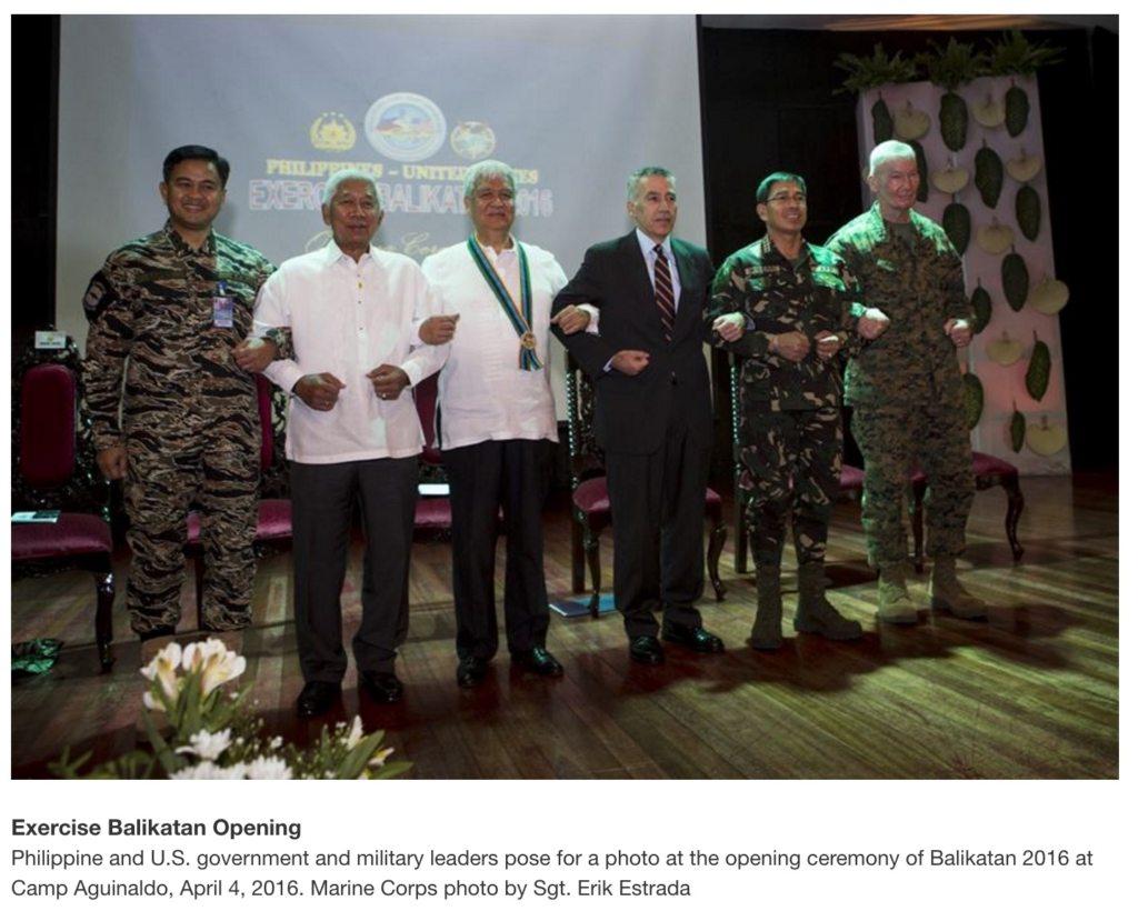 Image Balikatan 2016 Philippines