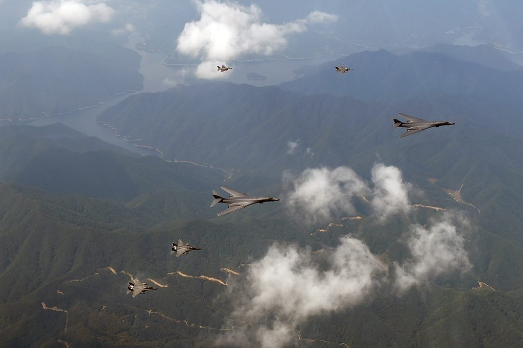 Image US Pacific Command North Korea flyby Sept21