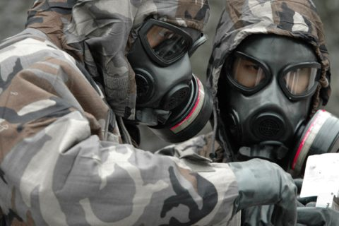 Image main of chemical weapons suit for mustard gas attack