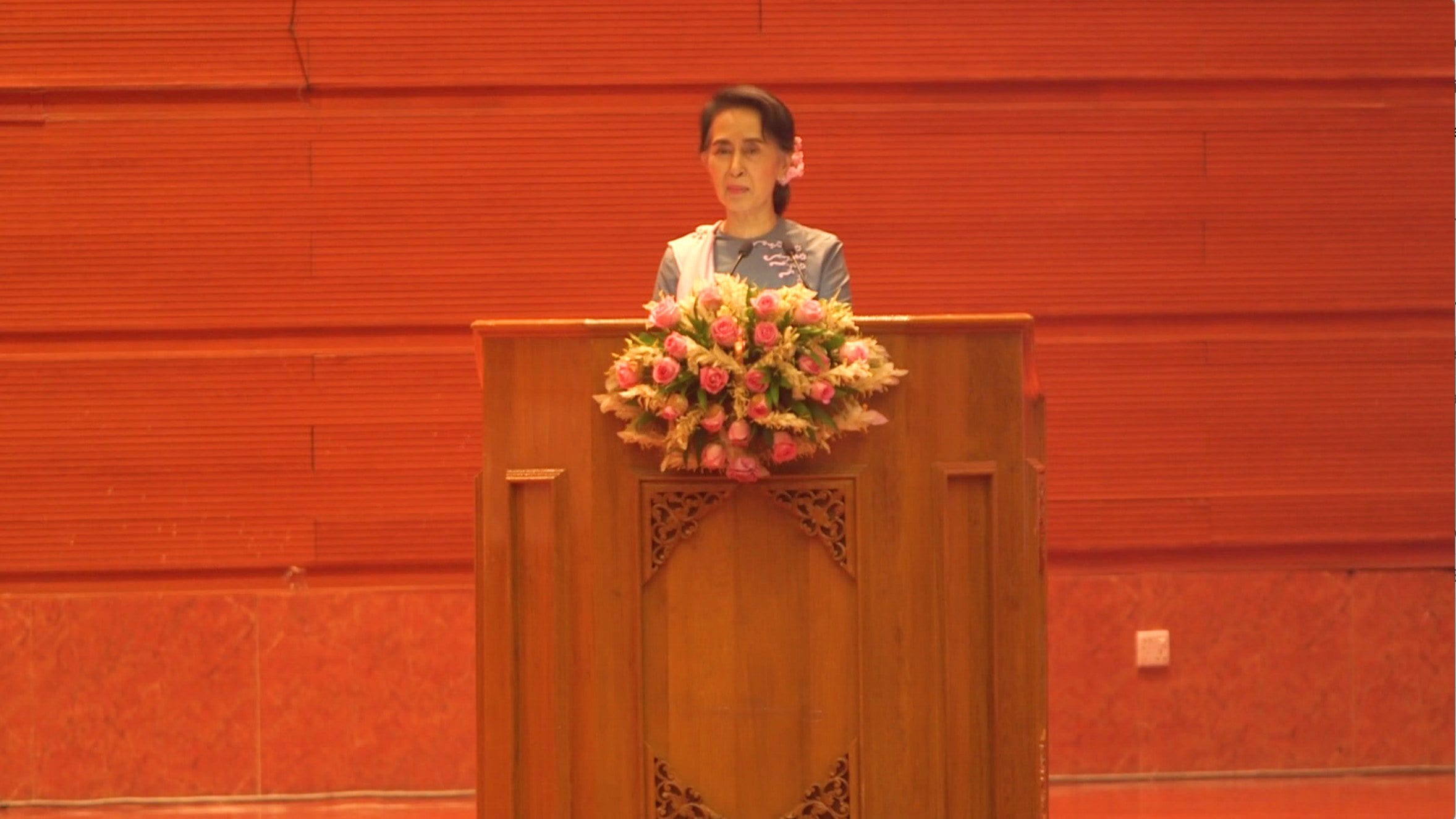Aung san suu kyis gloria pa sned
