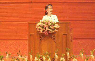 State Counsellor Aung San Suu Kyi - Panglong Peace Conference