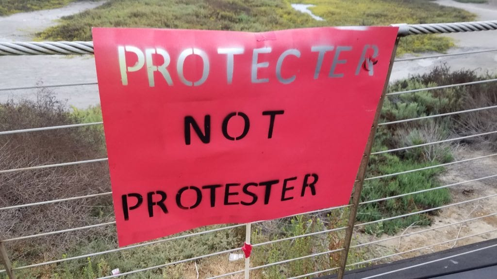 Protector Not Protester
