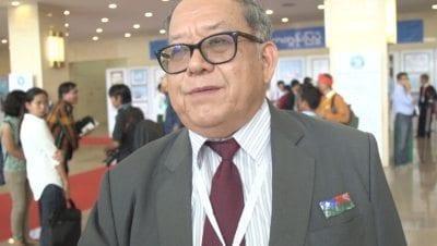 Col. Hkun Okker of the Pa-Oh National Liberation Organization (PNLO)