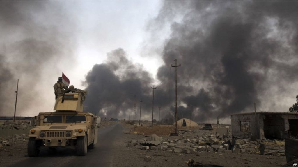 Image Mosul offensive