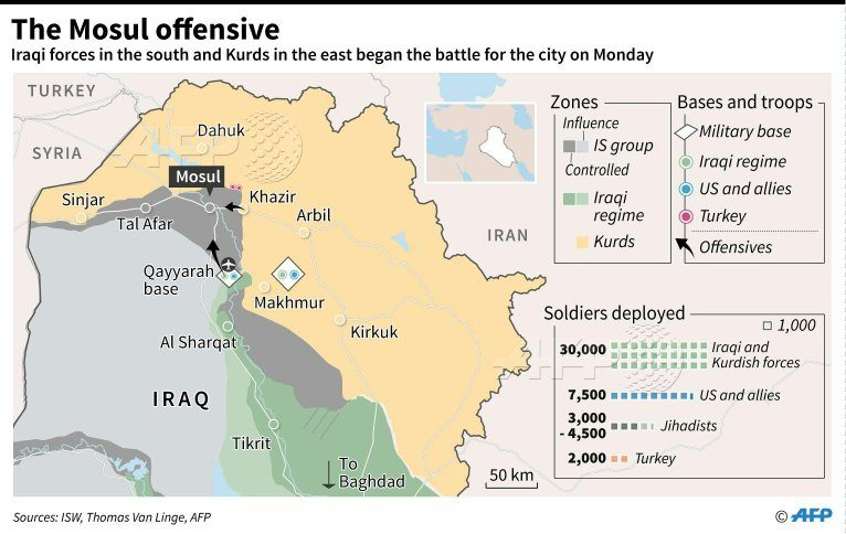 Image Mosul Offensive map