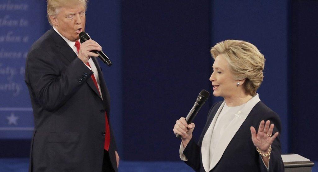 Image Trump Clinton Debate 2