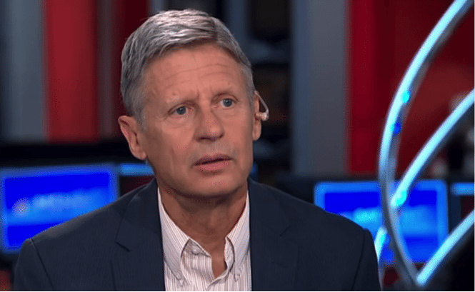 Image Gary Johnson Confused about Aleppo