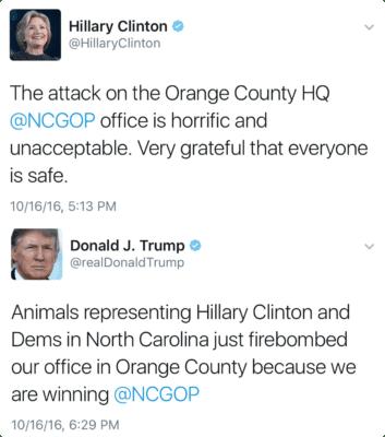 Image Trump tweet GOP bombing