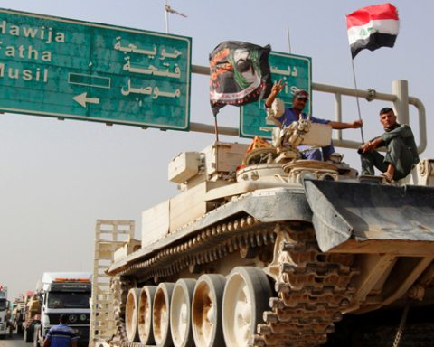 Image Mosul Offensive Day 2