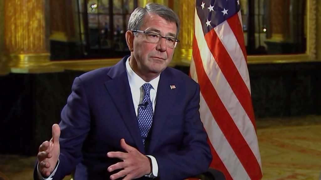 Image Secretary of Defense Ash Carter NBC News