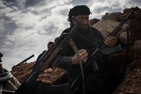 Image Free Syrian Army fighter Al bab Syria