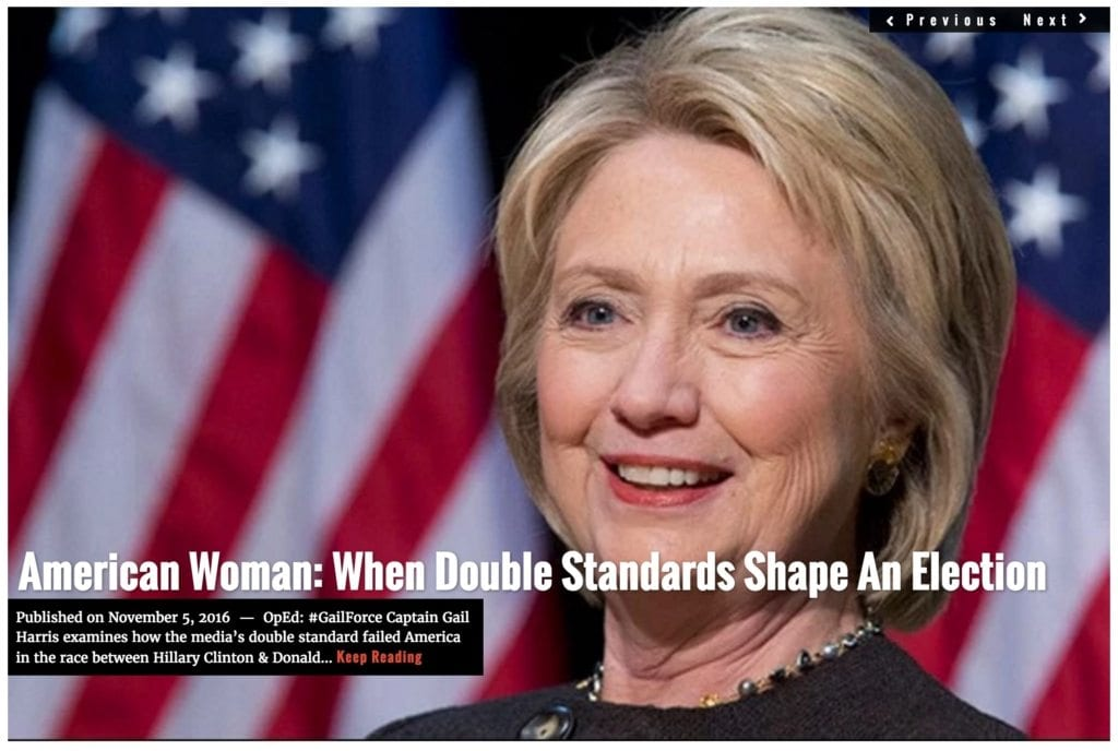 Image GailForce American Woman: Where Double Standards Shape an Election