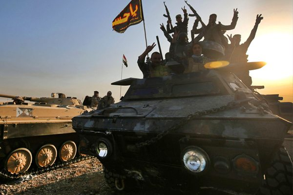 Image Battle for Mosul