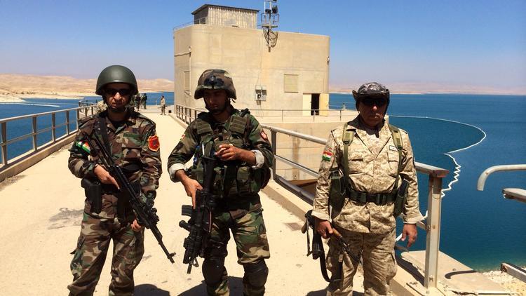Image Peshmerga Fighters, Mosul Dam