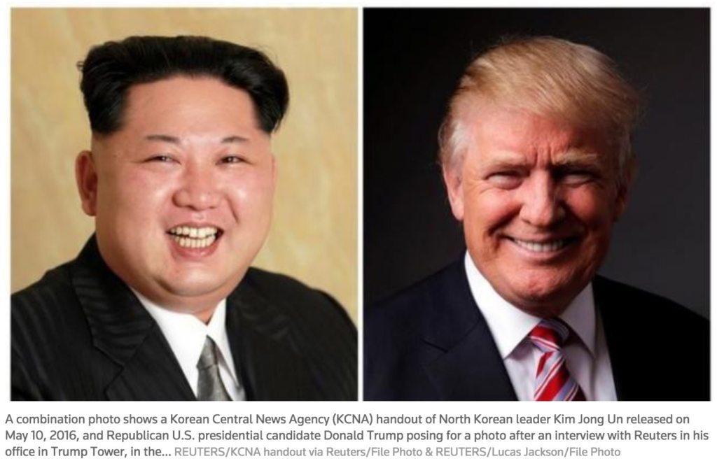 Image Kim Jong Un Trump