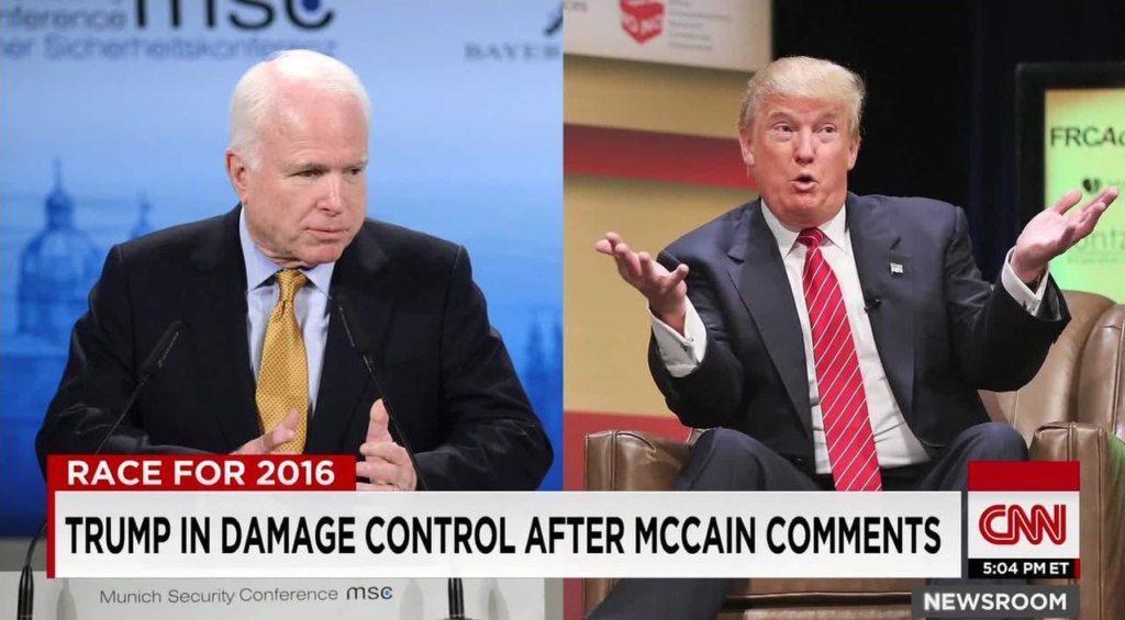 Image Trump McCain