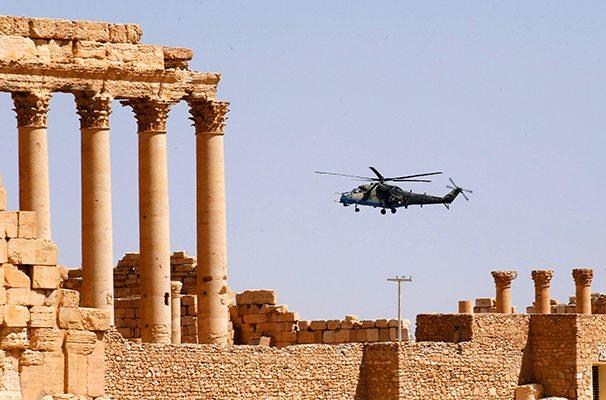 Image Palmyra Syria Russia