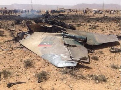 Image Libyan MiG-23 downed in February 2016