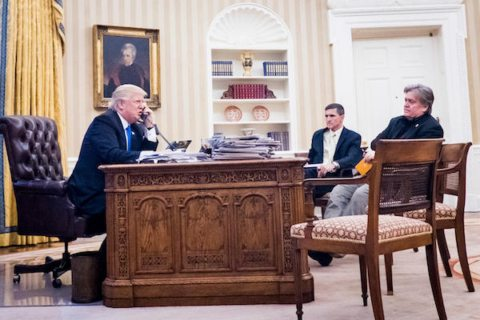 Image Trump Steve Bannon Mike Flynn
