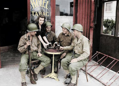 Image US soldiers in France 1944