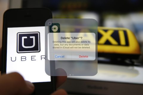 Image Internet turns on Uber