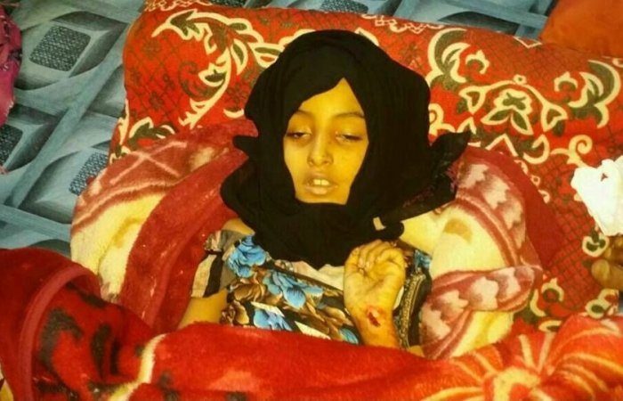 Image al Qaeda released photo allegedly of 8 year old Nura, daughter al Qaeda leader Anwar al Awlaki