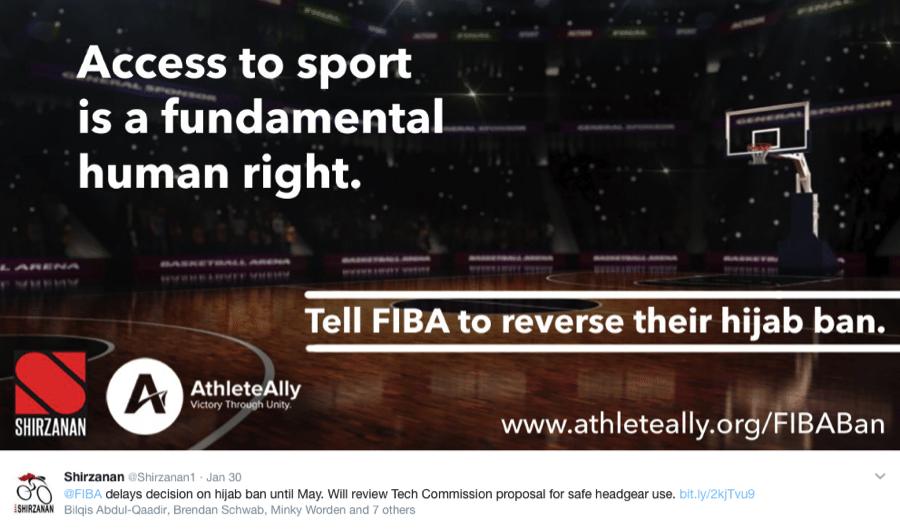 Image FIBA hijab ban