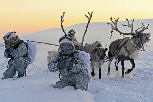Image Russia's New Arctic Military Bases [Lima Charlie News][Image: ITAR-TASS Photo Agency]