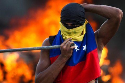 Main image venezuela protestor