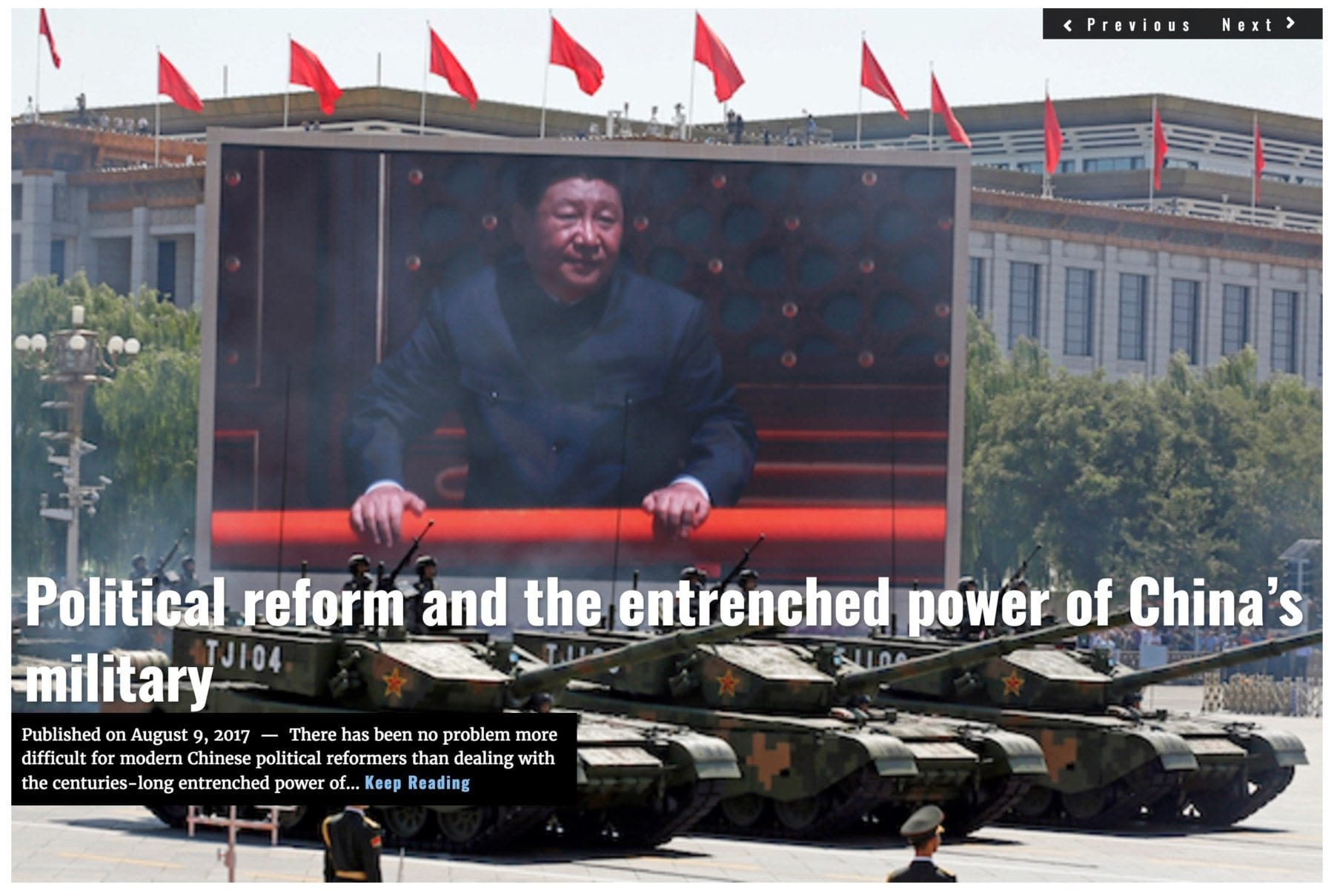 Image Lima Charlie News headline China PLA