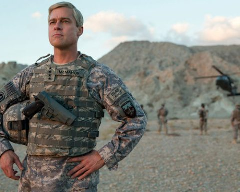 MAIN War Machine with Brad Pitt