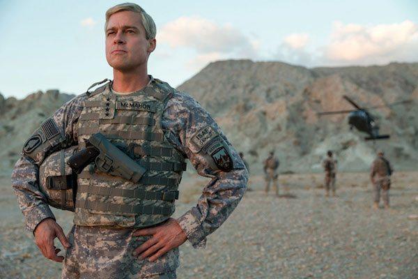 MAIN War Machine with Brad Pitt
