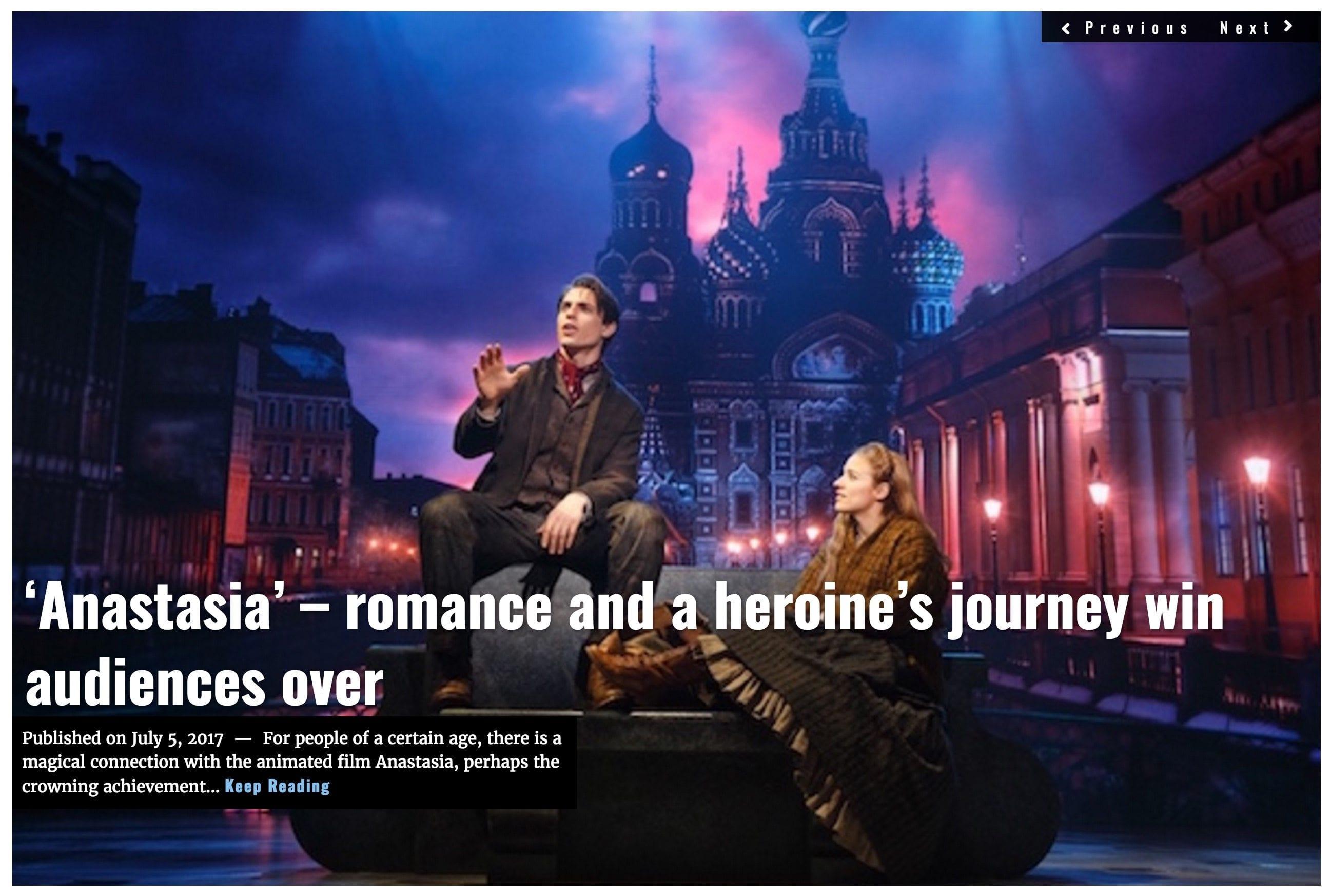 Lima Charlie News Headline Anastasia