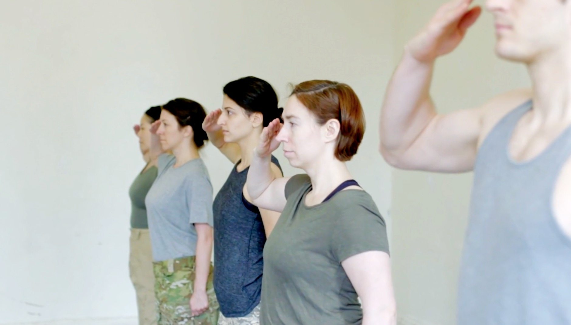 Image 'Bullet Catchers' from the Women in Combat Theatre Project