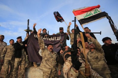 Iraq Army captures IS mosque declares victory