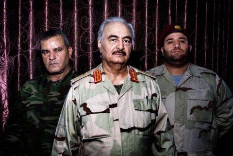 Image Libya's power struggles