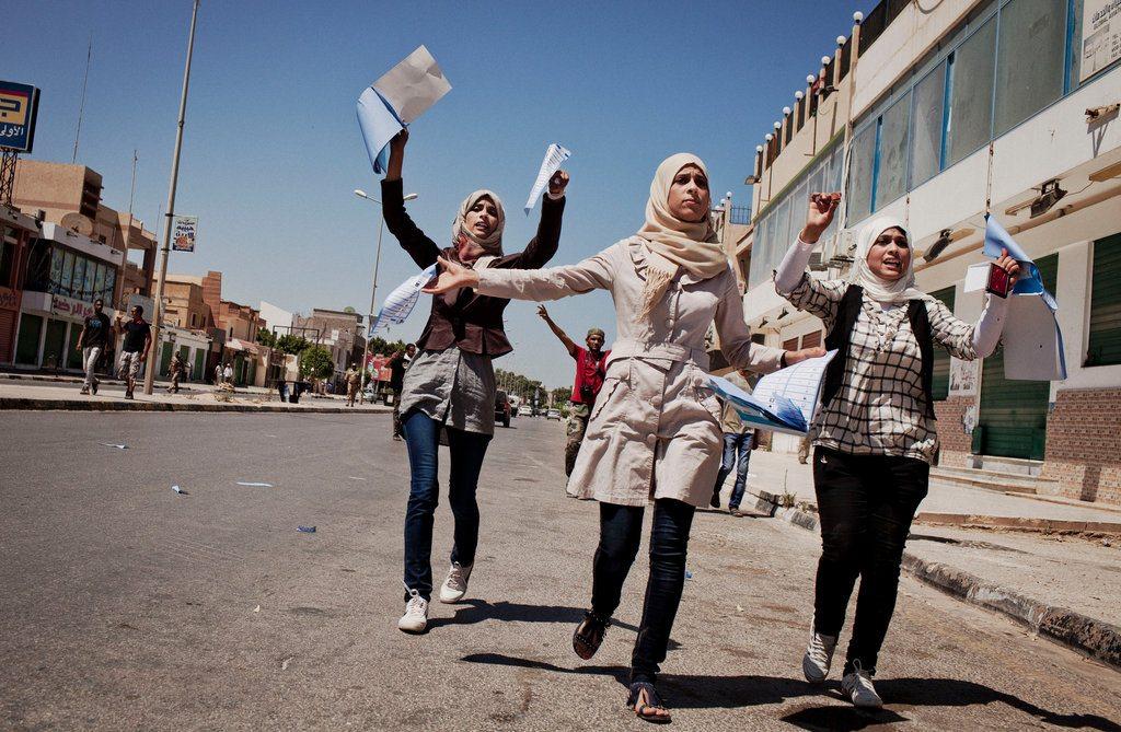 Image Libya vote