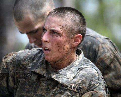 Image Women in combat inspire performance in 'Bullet Catchers'