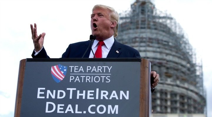 Image Trump Iran rally