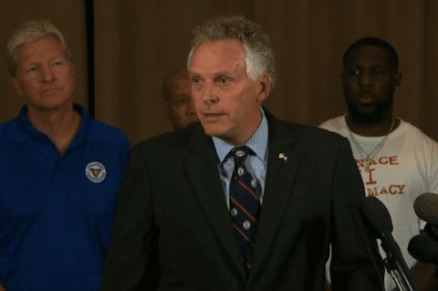 Image Gov. Terry McCauliffe to Charlottesville Nazis, white supremacists, 'GO HOME'