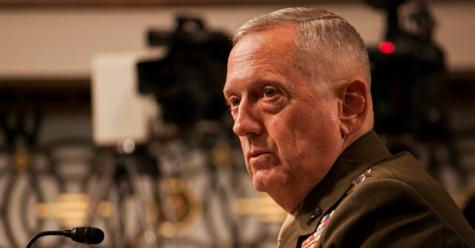 Image Secretary of Defense James Mattis