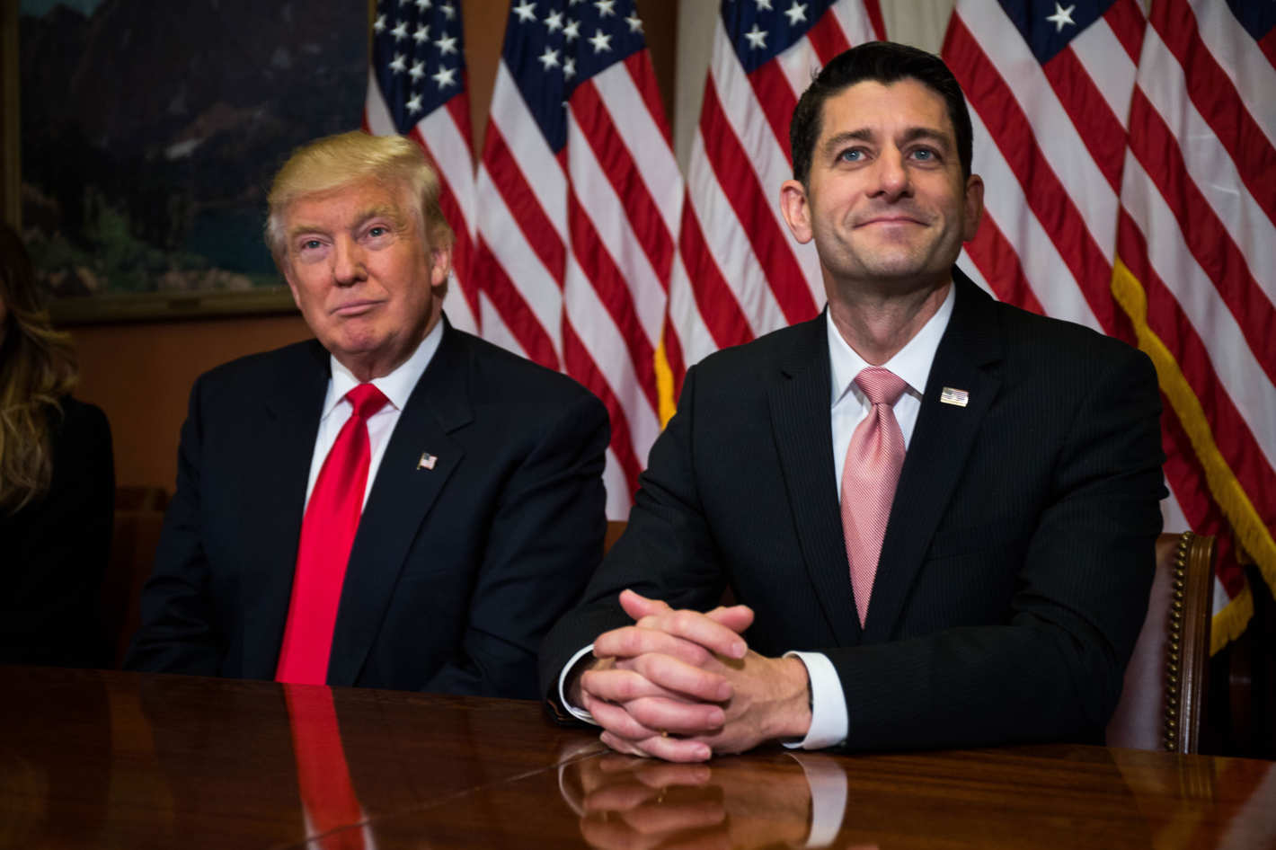 Image President Trump with Speaker of the House, Paul Ryan