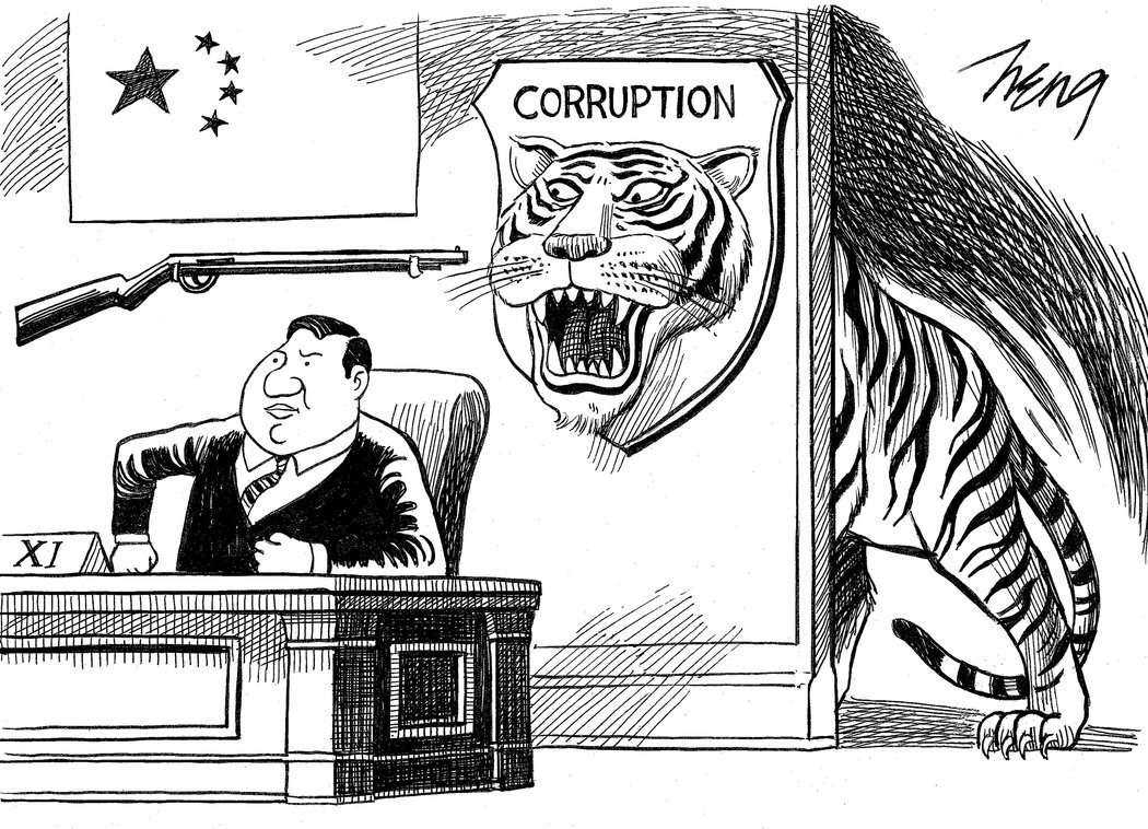 Image Xi corruption cartoon