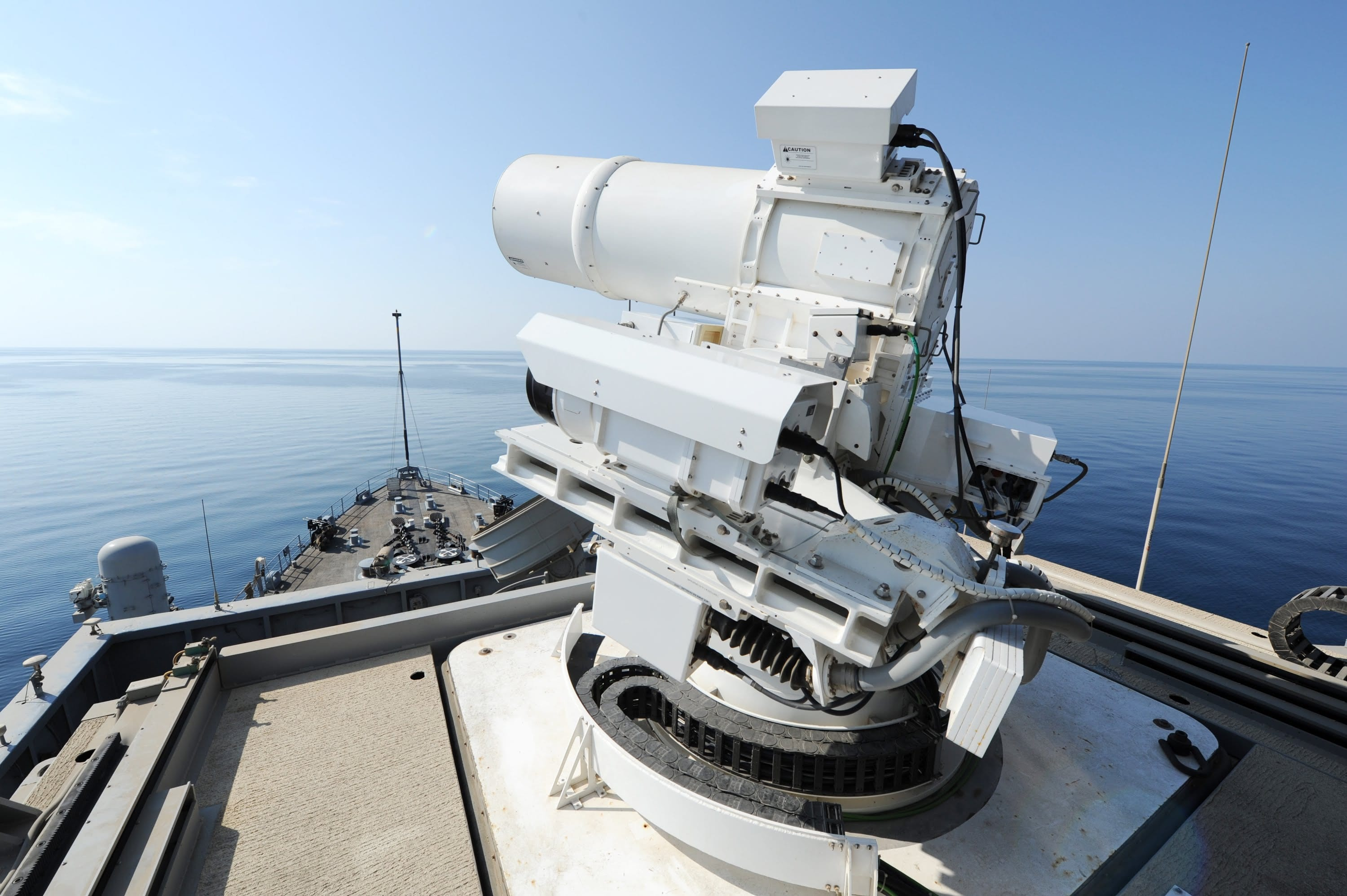 Image U.S. Navy's Laser Weapon System