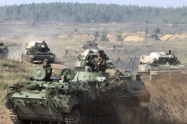 "Image Russia began its newest round of war games, ""Zapad-2017"" (the Russian word for ""West""), on Thursday."
