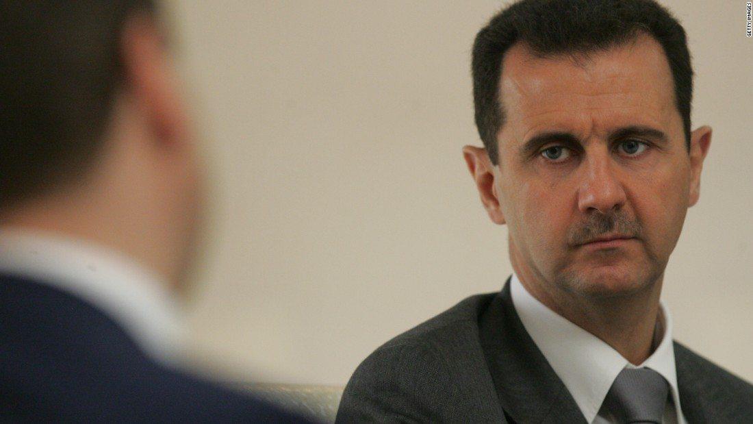 Image Bashar Al-Assad (Image: Sasha Mordovets)