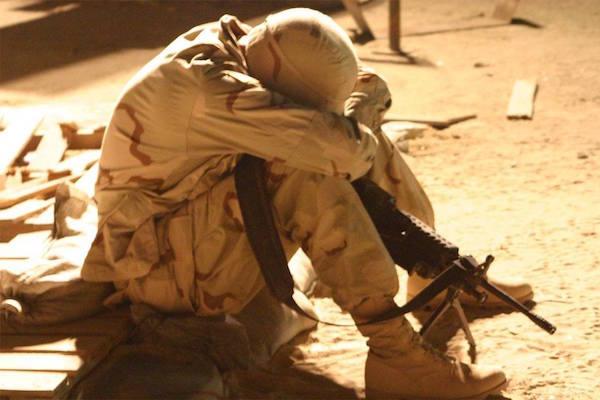 Image Combating Veteran Suicide - Lima Charlie interviews USC CIR's Nate Graeser